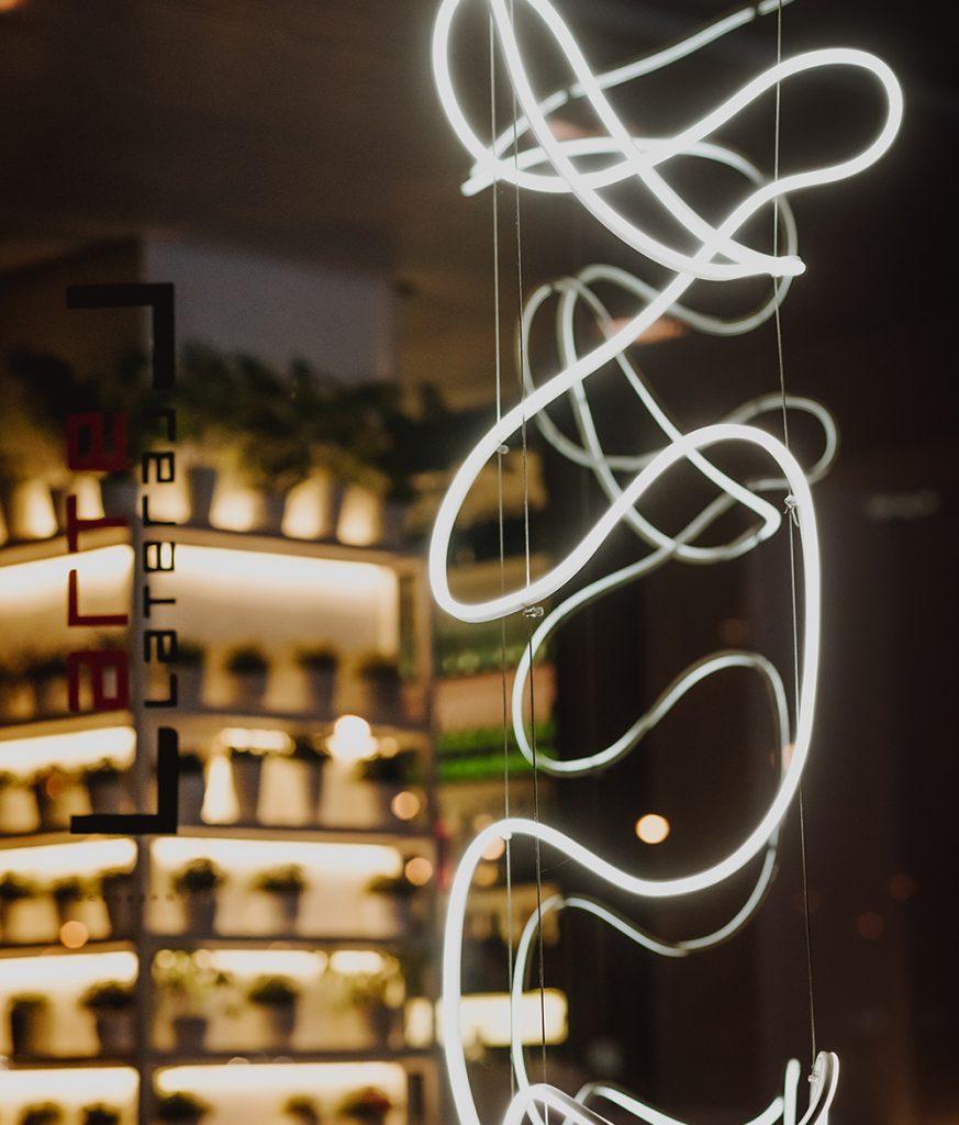 Escultura de luz